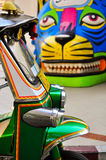 Tuk Tuk taxis in Bangkok Thailand. Royalty Free Stock Photo