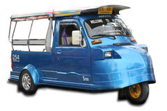 Tuk Tuk in thai Royalty Free Stock Photography