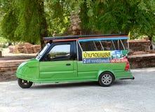 Tuk tuk. A thai tuk tuk parking Royalty Free Stock Photos