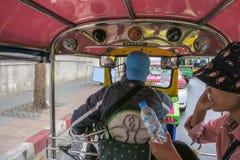 Tuk Tuk Thai Transport stock photo