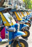 Tuk tuk thailand is local taxi thai is Favorite activities and a. Ttraction Stock Images