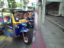Tuk tuk Thailand. Tuktukthai Thai car travel unseen Stock Photography