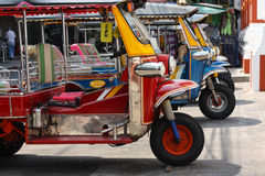 Tuk -tuk toeristentaxi in Thailand Royalty-vrije Stock Afbeelding