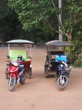 Tuk Tuk - transport populaire en Asie Images libres de droits