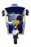 Tuk tuk tricycle. On white background Stock Images