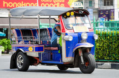 TUK TUK tricycle Thailand taxi. Stock Photo