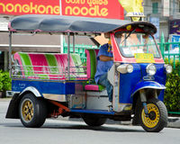 TUK TUK tricycle Thailand taxi. Royalty Free Stock Photography