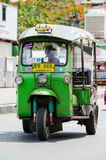 TUK TUK tricycle Thailand taxi. Royalty Free Stock Images