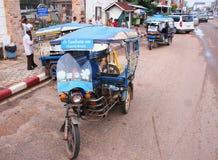 Tuk Tuk w Viantiane Fotografia Royalty Free