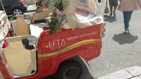 Tuk tuk for wedding Stock Image
