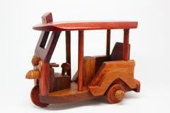 Tuk Tuk wood model Stock Photos