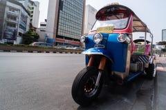 Tuk tuks στη Μπανγκόκ στοκ εικόνες