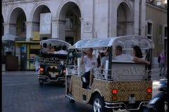 Tuk Tuks της Λισσαβώνας απόθεμα βίντεο