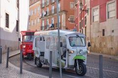 2 Tuk Tuks - такси Стоковая Фотография