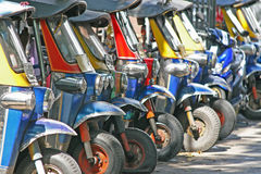 Tuk Tuks Royalty Free Stock Photo