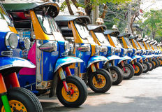 Tuk tuks taxi Royalty Free Stock Photo