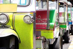 Tuk tuks taxi Royalty Free Stock Images