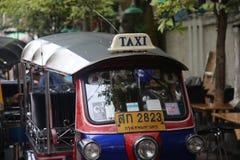 Tuk Tuks w Bangkok, Tajlandia Zdjęcie Royalty Free