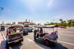Tuk Tuk Zadziwia Tajlandia obrazy royalty free