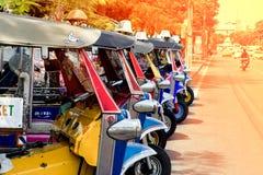 Tuk Tuk Zadziwia Tajlandia zdjęcia royalty free