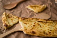 Tukish pide με το τυρί/Kasarli pide Στοκ Εικόνα