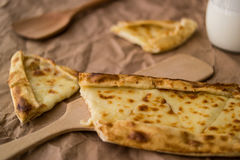 Tukish pide με το τυρί/Kasarli pide Στοκ εικόνα με δικαίωμα ελεύθερης χρήσης