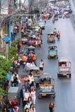 Tuks tuk Бангкока Стоковое Изображение