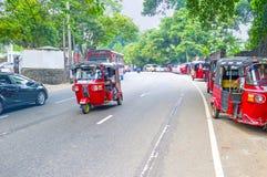Tuks Tuk в Шри-Ланке Стоковое Изображение RF