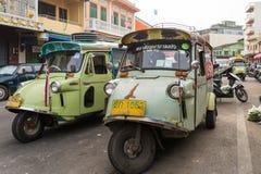 Tuktuk马达三轮车 免版税图库摄影