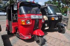 Tuktuk в Коломбо Шри-Ланке стоковое фото