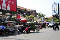 TukTuk, Angkor wat city Stock Photos