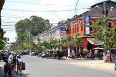 TukTuk, Angkor wata miasto Obraz Royalty Free