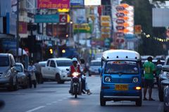 Tuktuk Royalty Free Stock Photo