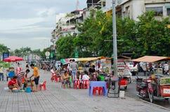 Tuktuk catering, Cambodia Royalty Free Stock Photography