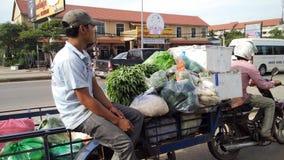 TukTuk, ciudad de Angkor Wat Foto de archivo libre de regalías