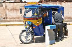 Tuktuk Driver Royalty Free Stock Photos