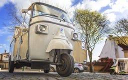 Tuktuk. In Lisbon, Portugal Stock Images