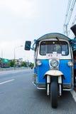 tuktuk op straat van Thailand Royalty-vrije Stock Afbeeldingen