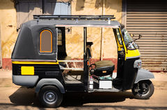 Tuktuk - risciò Immagini Stock Libere da Diritti