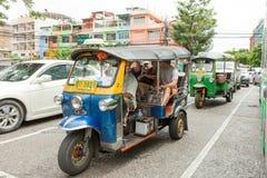 Tuktuk with tourists Stock Photography
