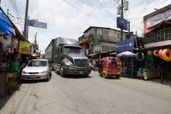 Tuktuk w Gwatemala Zdjęcia Stock
