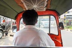 Tuku Tuk kierowca Obrazy Royalty Free
