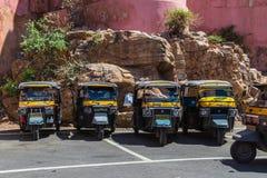 Tuku Tuk riksza w Jaipur, India Fotografia Stock