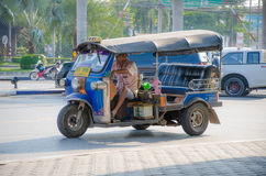 TUKU TUK Tajlandia taxi. Obraz Royalty Free