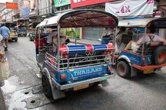 Tuku Tuk taxi Tajlandia Zdjęcie Stock