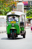 TUKU TUK trójkołowa Tajlandia taxi Zdjęcie Stock