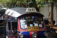 Tuku tuk w Bangkok, Thailand Zdjęcie Stock