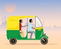 Tuku tuku taxi Obraz Royalty Free