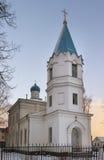 Tukums St. Nicolas Orthodox Church. Stock Images