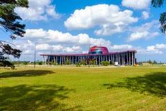 Tukums, terminal de canalisation de Jurmala d'aéroport de la Lettonie le 27 juillet 2016 Photographie stock